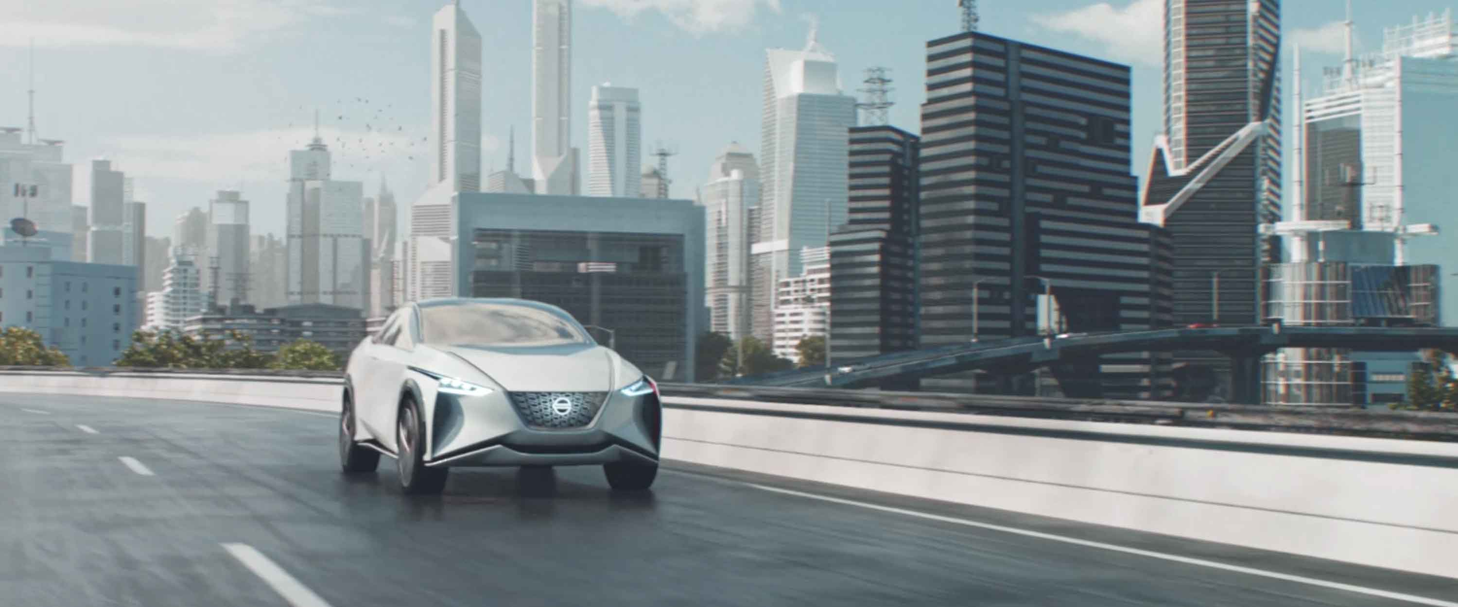 Auto concepto Nissan Intelligent Mobility